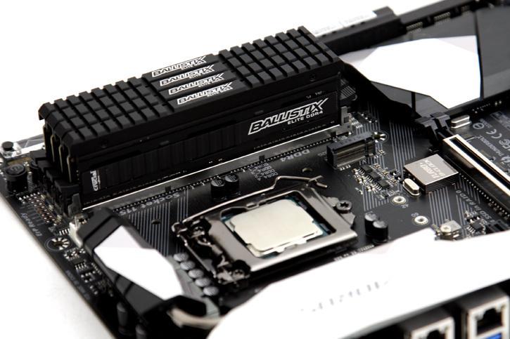 Ballistix Elite 3200 MHz 16GB Quad Channel DDR4 review - A