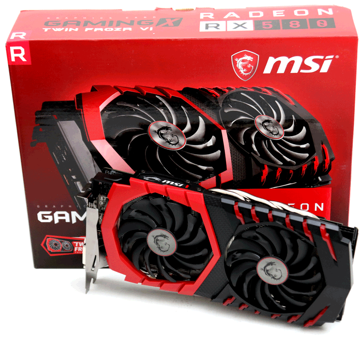 MSI Radeon RX 580 Gaming X review - Product Photos
