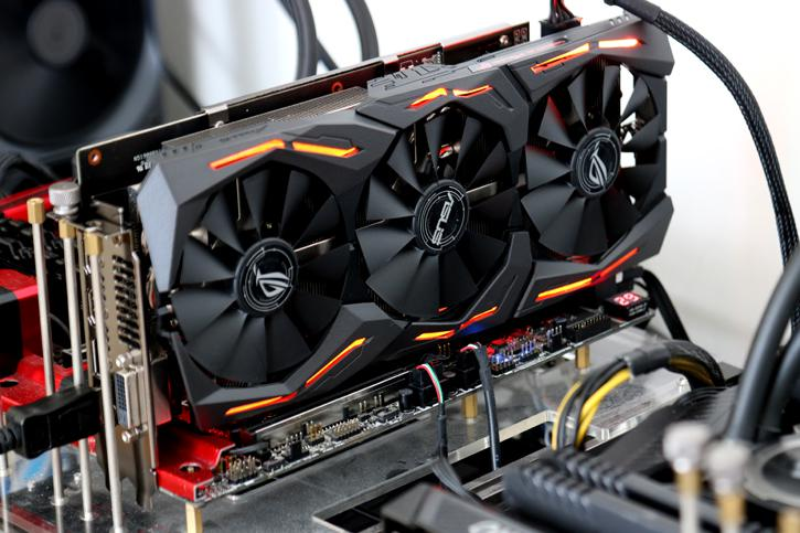 ASUS Radeon RX 580 STRIX review - Product Photos
