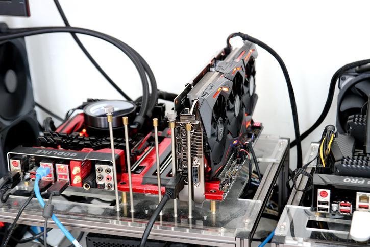 ASUS Radeon RX 580 STRIX review - Hardware setup | Power consumption