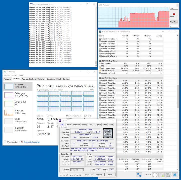 Intel Core i9 7900X processor review - Power Consumption