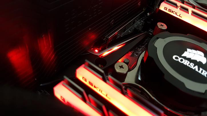 MSI X299 Gaming Pro Carbon AC review - Mystic Light LED System