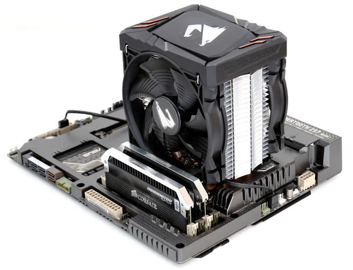 Gigabyte ATC700 AORUS CPU cooler review - Product