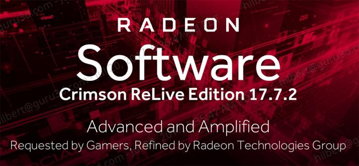 AMD Radeon Crimson ReLive Edition Driver v17 7 2 Overview