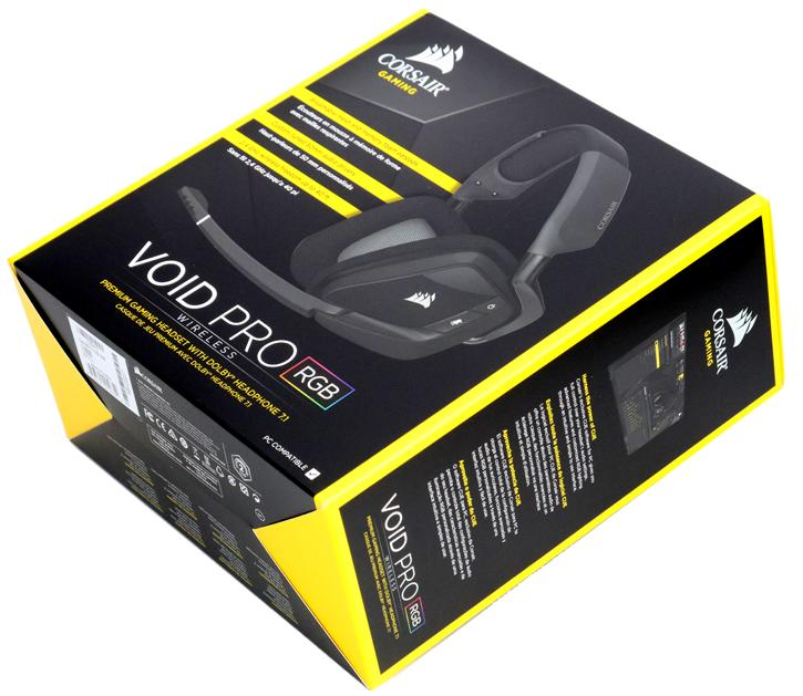 Corsair Gaming VOID PRO RGB Dolby headset review