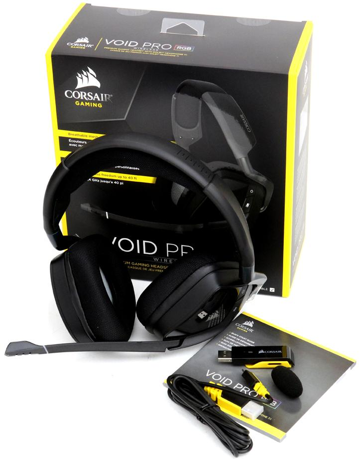 Corsair Gaming VOID PRO RGB Dolby headset review - Gaming