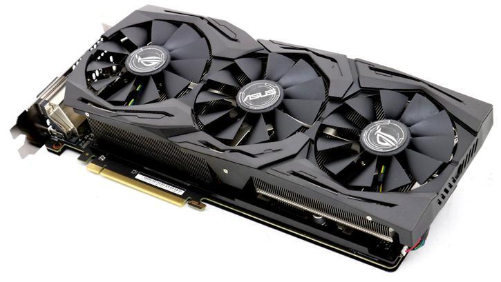 ASUS Radeon ROG RX Vega 64 STRIX 8GB review - Product Photos