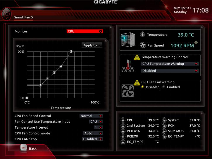 Gigabyte Aorus Z370 Gaming 7 review - The UEFI BIOS