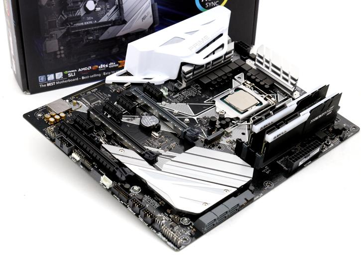 ASUS PRIME Z370-A review - Product Showcase