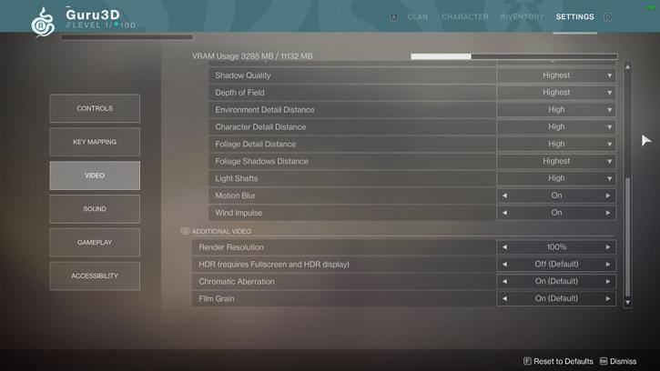 Destiny 2: PC graphics analysis benchmark review - Image