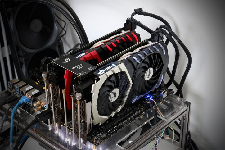 GeForce GTX 1070 Ti 2-way FCAT SLI review - Multi-GPU Mode