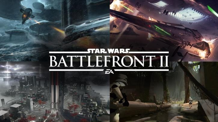 Star Wars Battlefront I, II, III: Рецензия на Star Wars: Battlefront 2