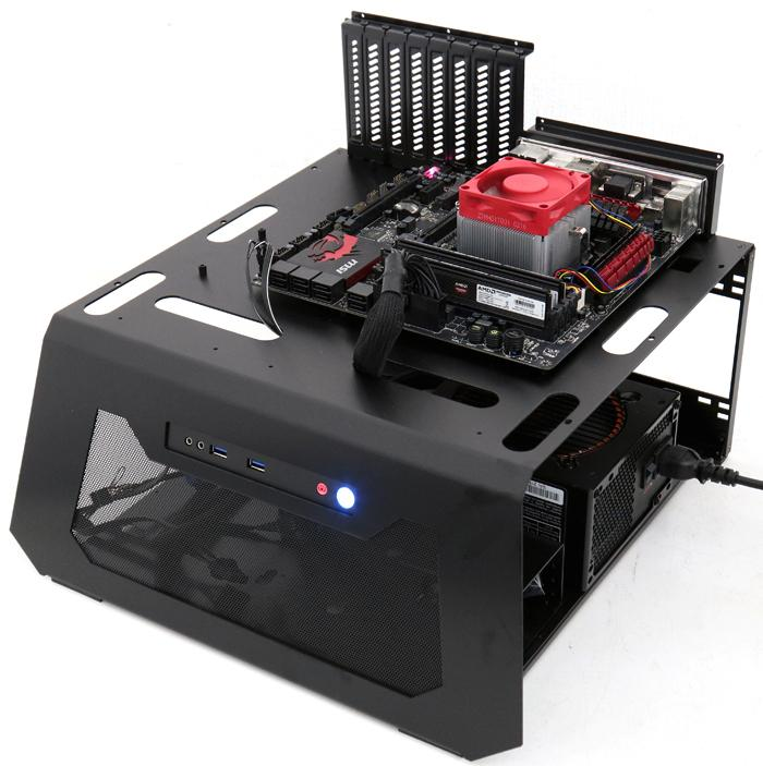 Lian Li Pc T70 Open And Closed Air Test Bench Review