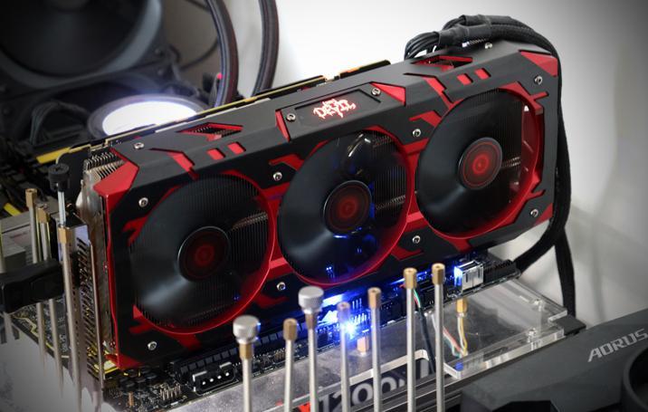 PowerColor Red Devil Vega 56 8GB review - Hardware setup | Power