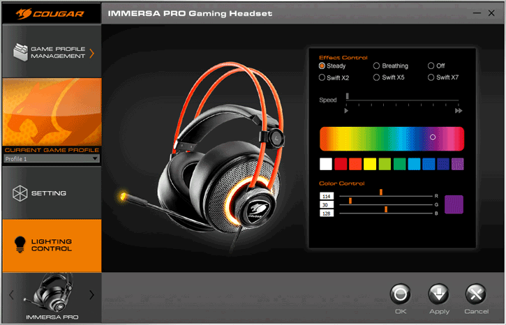 Cougar Immersa Pro Gaming Headset Review - Driver