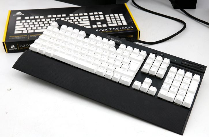 Corsair PBT Double-Shot Keycaps Review - Article Page 2 - Installing