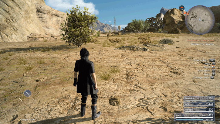Final Fantasy XV PC graphics performance benchmark review