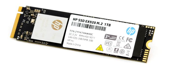 HP EX920 1 TB M 2  SSD review - Product Showcase