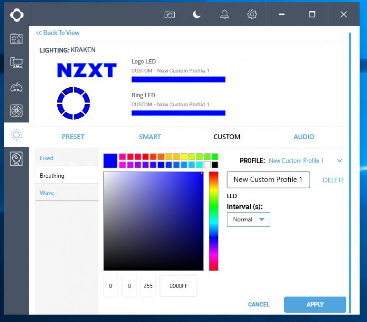 Nzxt Kraken X72 Review The Software Behind The Kraken