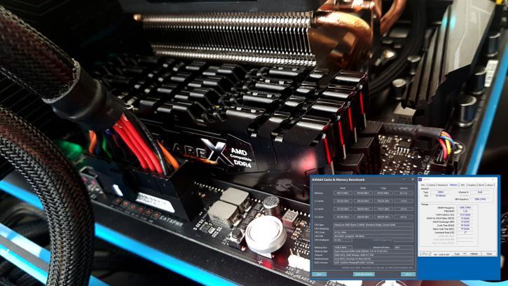 AMD Ryzen 7 2700X review - Performance - DDR4 System Memory