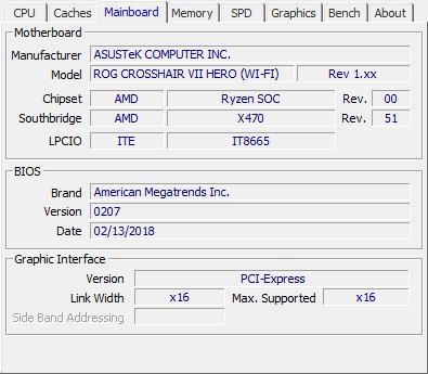 AMD Ryzen 5 2600 review - CPU-Z Screenshots