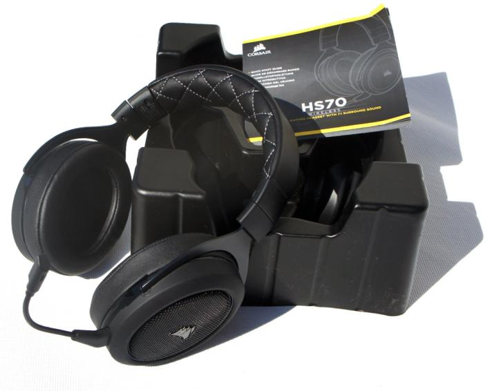 Corsair HS70 Wireless Headset review - Introduction