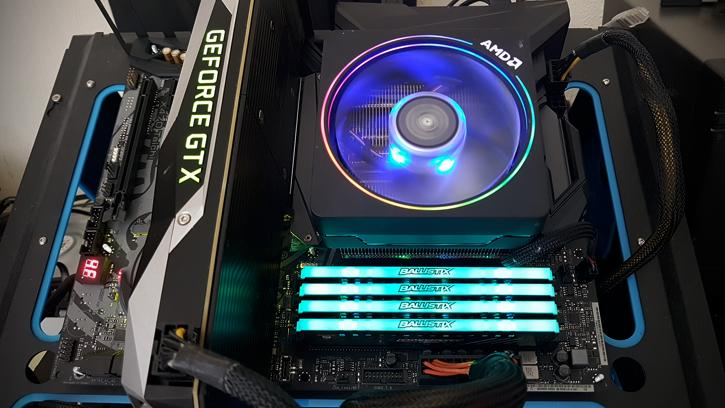 Ballistix Tactical Tracer DDR4 RGB 32GB 2667 MHz review