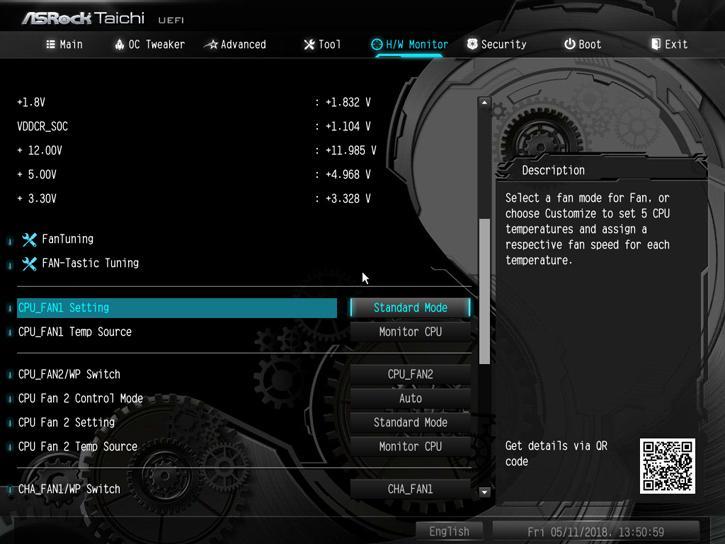 ASRock X470 Taichi review - The UEFI BIOS