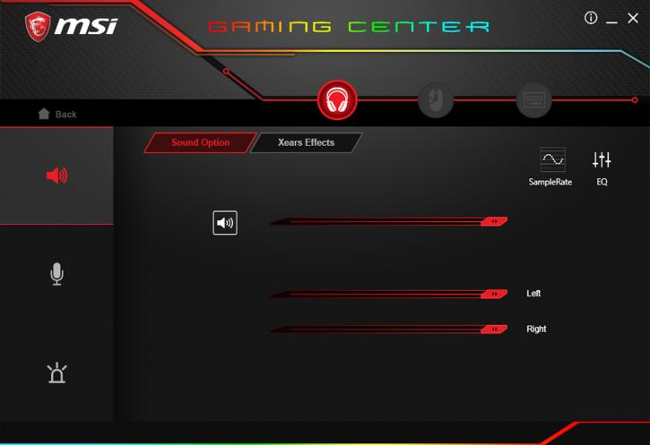 MSI Immerse GH70 Gaming Headset review - MSI Gaming Centre + MSI