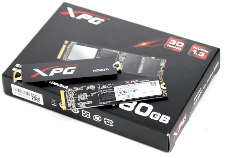 ADATA XPG SX8200 480GB M 2  SSD review - Product Showcase