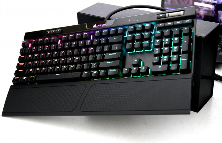 69c5fceff12 The K70 RGB MK.2's solid brushed aluminum frame is ready to withstand a  lifetime of gaming, while keeping styling simple and refined, and every key  is ...