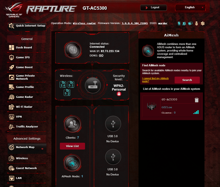 ASUS RT-AX88U (AX6000) router review - AIMesh Router Setup