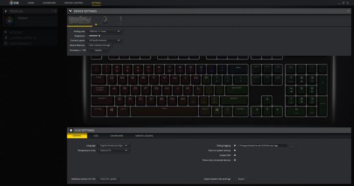 Corsair Strafe RGB MK 2 (w/ silent switches) review - Corsair iCUE