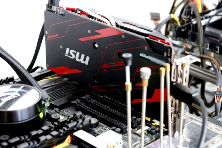 MSI Radeon RX 570 and 580 MECH 2 8G OC review - Hardware setup