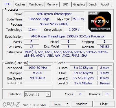 AMD Ryzen Threadripper 2990WX review - Performance - Enable