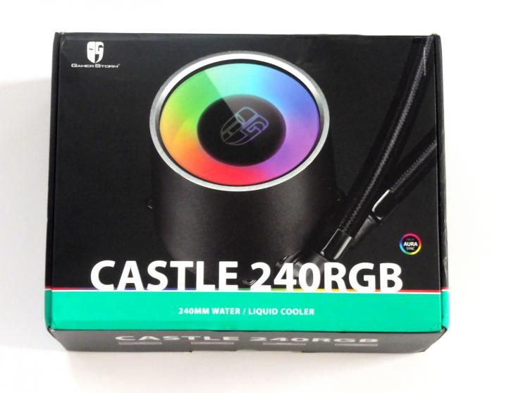 Deepcool Gamerstorm Castle 240 RGB AIO review - Product showcase
