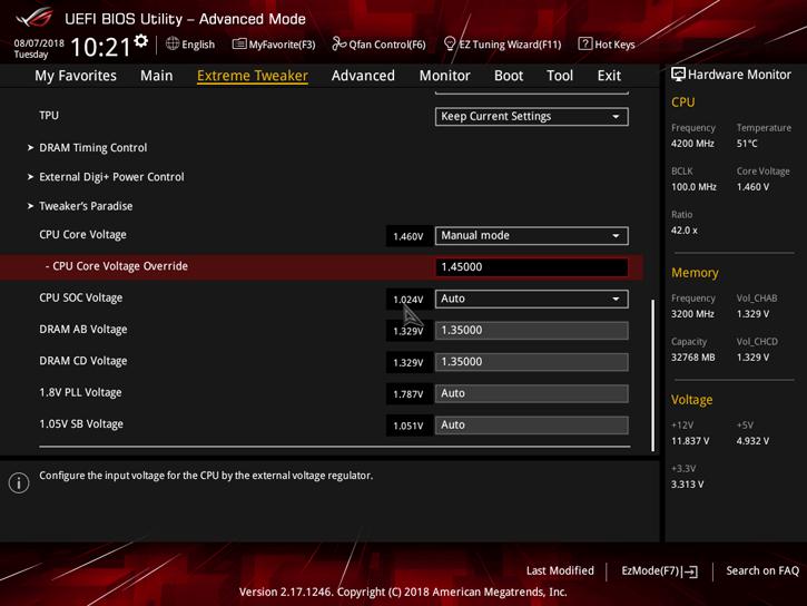 AMD Ryzen Threadripper 2950X review - Overclocking Your
