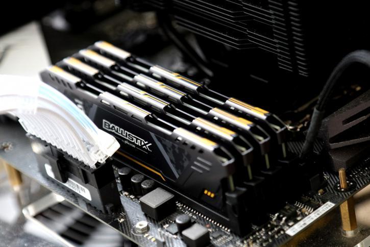 Ballistix Sport AT Gaming DDR4 RGB 32GB 3000 MHz review - A