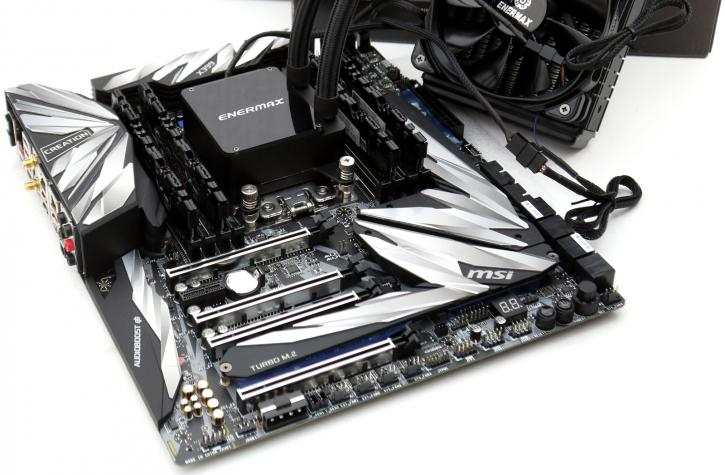 Review: MSI MEG X399 Creation Threadripper motherboard
