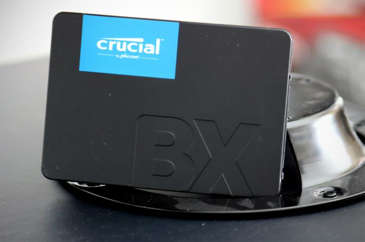Review: Crucial BX500 480 GB - Value at 18 Cents per GB?