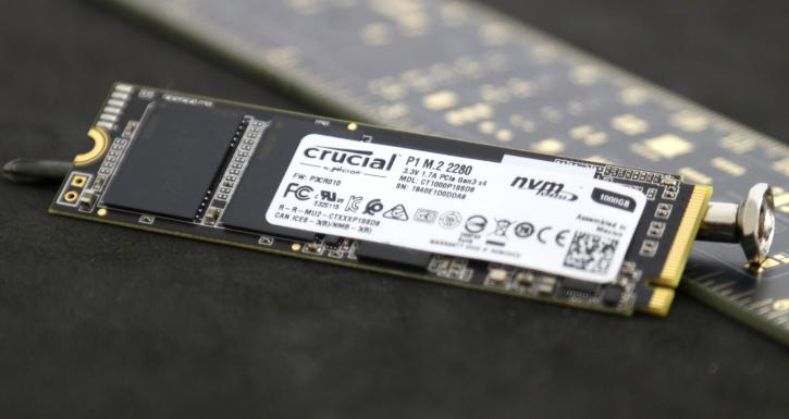 Crucial P1 M 2 1000GB SSD Review - Introduction