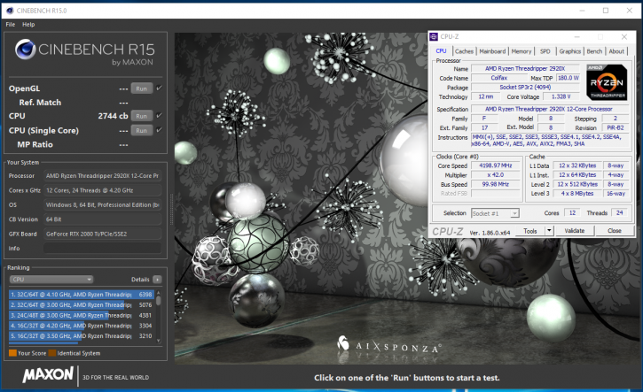 AMD Ryzen Threadripper 2920X review - Overclocking Your