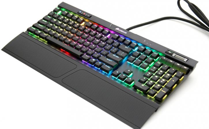 Corsair K70 RGB MK 2 Low Profile RAPIDFIRE review - Mechanical