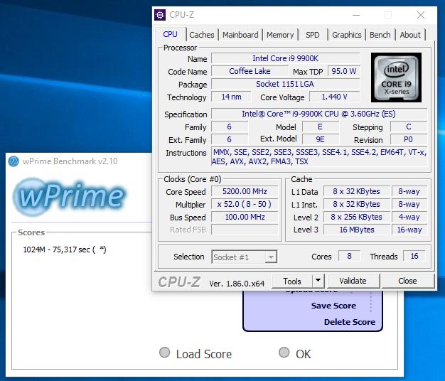 Gigabyte Z390 AORUS Pro review - Overclocking