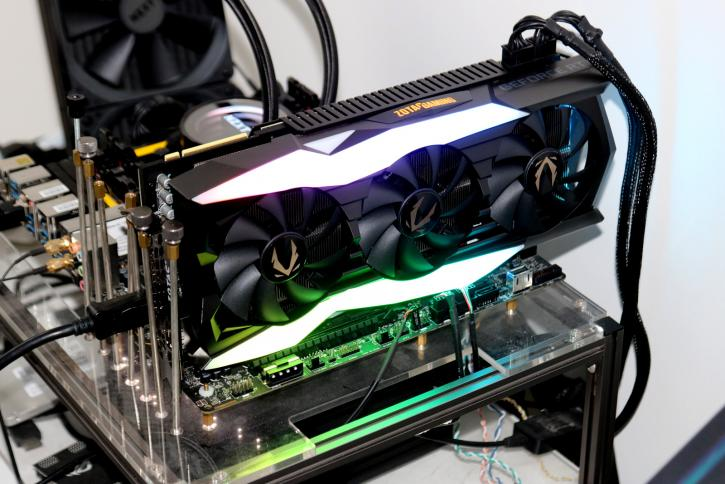 Zotac Gaming Geforce Rtx 2080 Ti Amp Extreme Review Hardware Setup Power Consumption