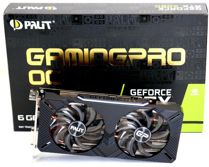 Palit Geforce Rtx 2060 Gamingpro Oc Review Product Showcase