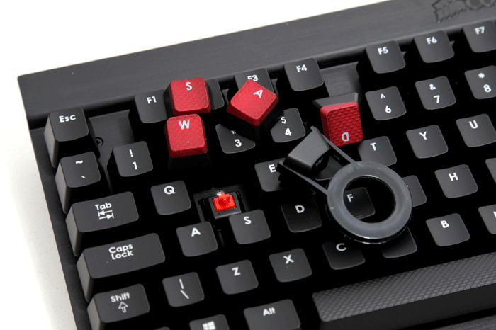 Corsair Vengeance K70 Review Mechanical Cherry Keys