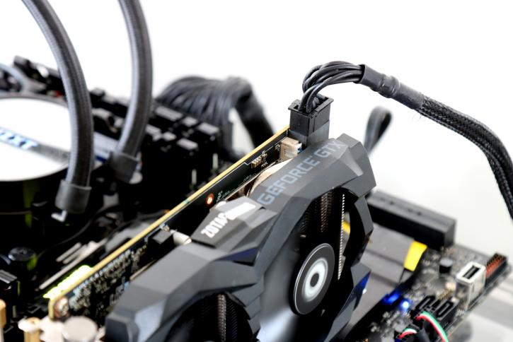 Zotac Geforce Gtx 1660 Twin Fan 6 Gb Review Hardware Setup Power Consumption