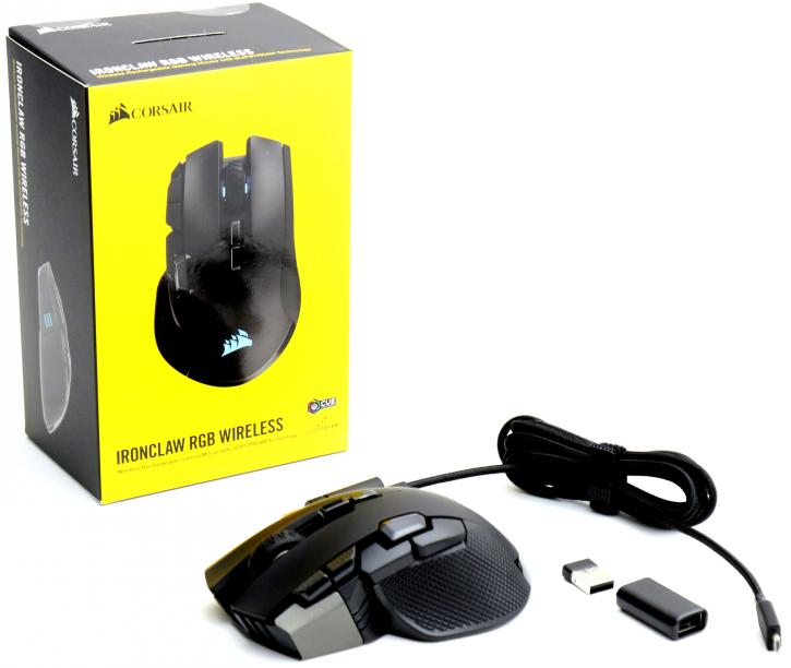 Corsair IronClaw RGB Wireless mouse review - Product Showcase