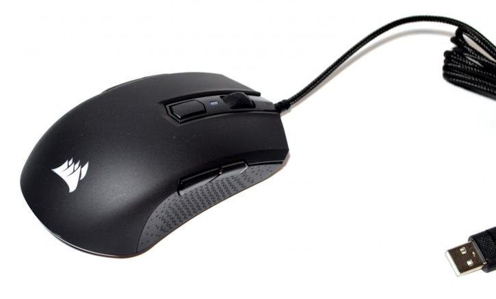 f120599e106 The Harpoon RGB is an ambidextrous multi-grip mouse. I use a claw grip and  still loved the feel of the mouse. On the top, you can see the scroll wheel  which ...